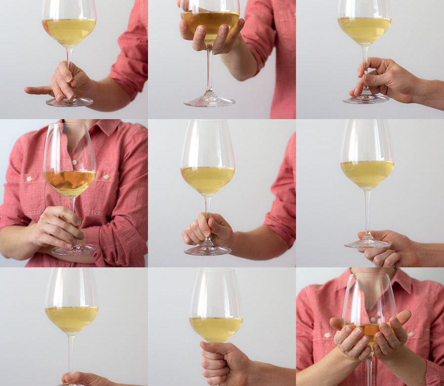 Holding a wine glass - Are you doing it wrong?