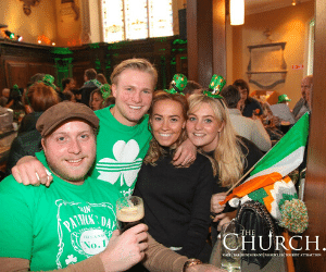 Home for St Patricks Day in Dublin at The Church