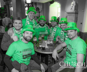 Group Bookings St Patricks Day in Dublin at The Church