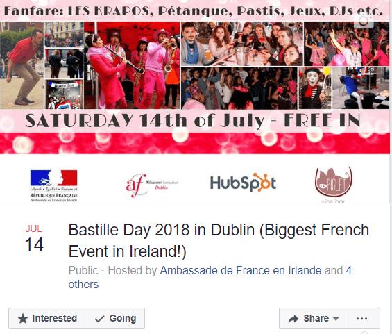 Bastille day in Dublin