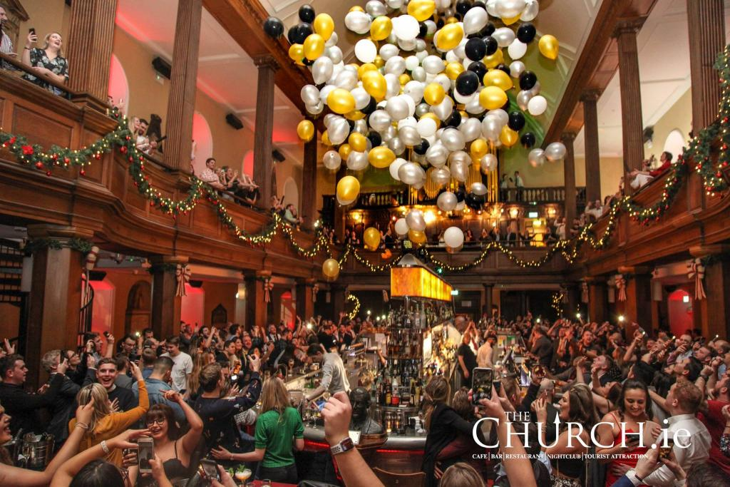 Happy New Year at The Church Dublin