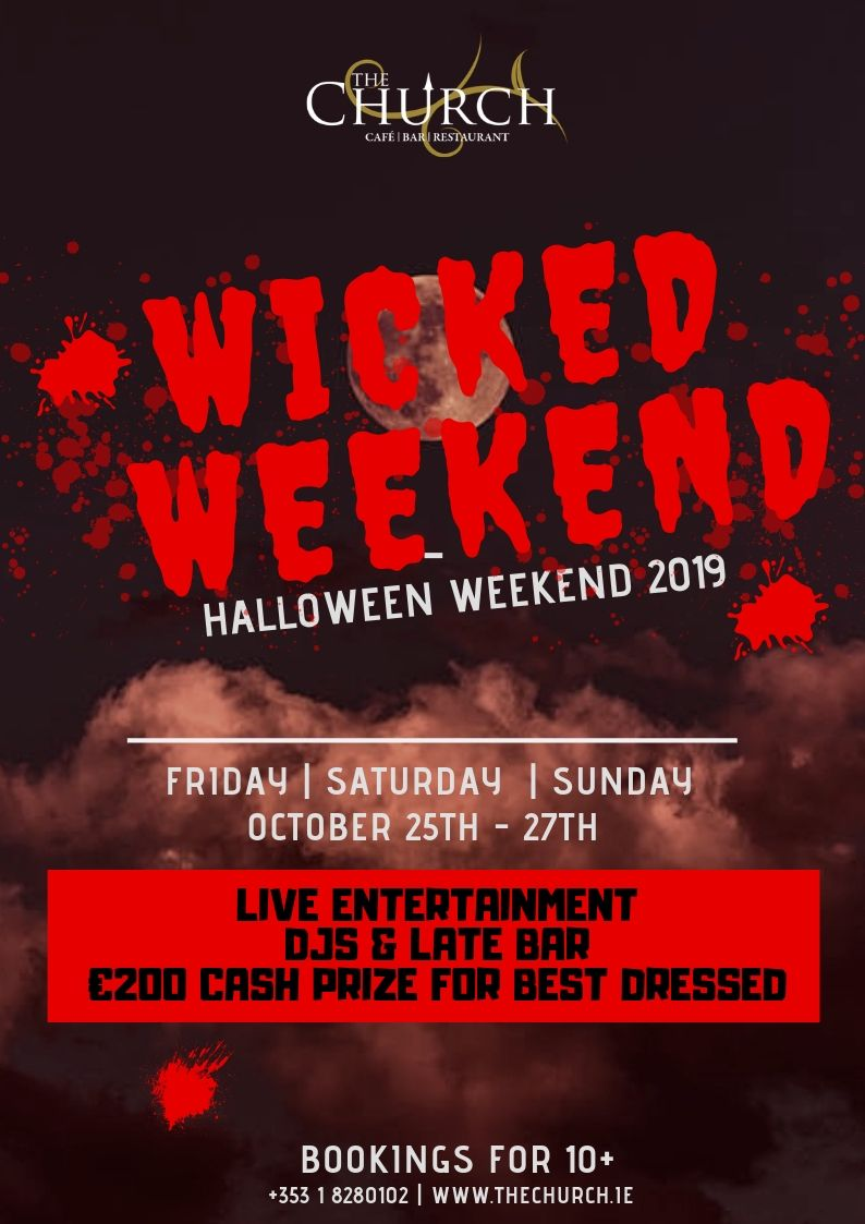 Wicked Weekend This Halloween 2019
