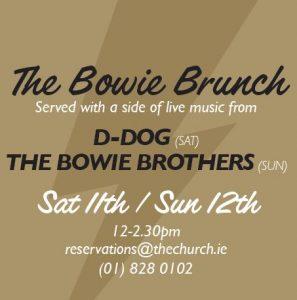 David Bowie Festival The Bowie Brunch