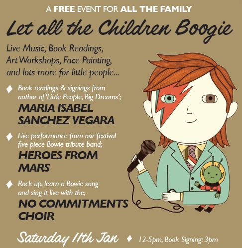 David Bowie Festival Let all The Children Boogie The Church